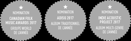 Nominations de l'album ID